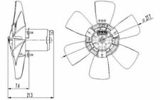 NRF Ventilador, refrigeración del motor VOLKSWAGEN PASSAT GOLF AUDI SEAT 47391