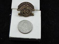 HARLEY DAVIDSON PIN  ( HOG ) 1989 CHAPTER EVENT