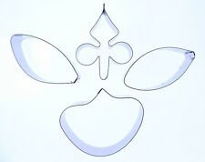 Orchid Moth Sugarcraft Cutter -set of 4 -Valley Cutter Company - Cake Decorating