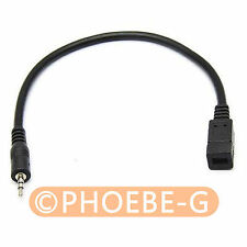 NIKON MC-DC2 jack to ED-SR9NX01 plug Convert Adapter