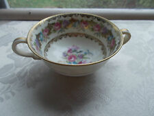 "NORITAKE... ""LADY ROSE"" ... CREAM SOUP CUP --  XLNT COND"