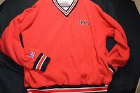 JAYS Windbreaker Thermal Red Black Russell Athletics XL Men's Shirt