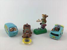 Scooby Doo Toys 4pc Lot Mystery Machine Shaggy Burger King Hanna Barbera