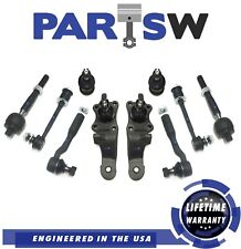 10 Pc Suspension Kit for Toyota Tundra Inner & Outer Tie Rod Ends Ball Joints