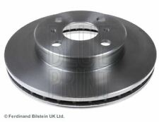 BLUE PRINT BRAKE DISCS FRONT PAIR FOR A TOYOTA COROLLA SALOON