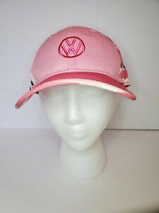 VW Volkswagen Women's Hat NWOT Pink Camo