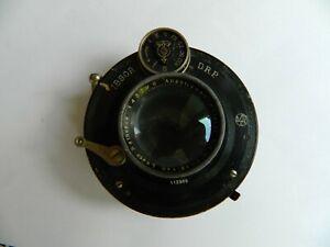 Ibsor D.R.P. Shutter with Laack Rathenow 1:4.5 F= 13.5 cm Lens