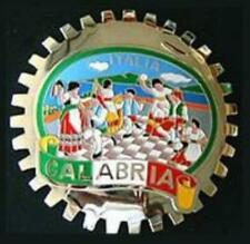 CALABRIA ITALY CAR GRILLE BADGE EMBLEM