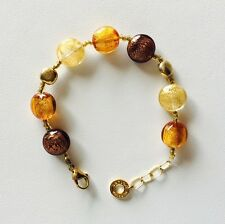 Antica Murrina Frida--Handmade Multicolor Murano Glass  Bracelet