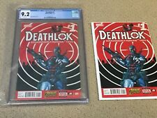 Deathlok 1 CGC 9.2 White Pages (Classic Cover!!) + extras