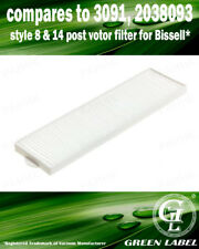 For Bissell Style 8&14 HEPA Filter. Compares to 3091, 2038093. By Green Label