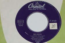 """THE FOUR PREPS -Big Man / Stop, Baby- 7"""" 45  Capitol Records (F3960) 1958"""