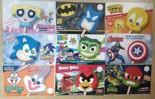 9 Mix Blue Bunny Ice Cream Characters Truck Decals Sonic Batman Ninja Tweety