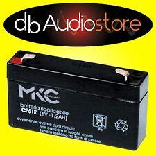 MKC 491460201 batteria al piombo 6v 1.2a t1 4.8 lampade d'emergenza elettronica