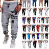 Mens Jogging Sports Sweat Pants Tracksuit Bottoms Casual Jogger Bottoms Trousers