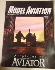 Model Aviation Juillet 2005 Avion Rc Hughes H-1 Voltige Aviator Magazine