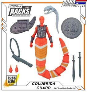 Boss Fight Studios Series 1 - COLUBRIDA GORGON - NO PACKAGING Vitruvian HACKS