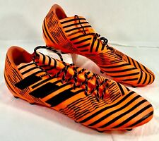 New adidas Nemesis soccer cleats Orange Sz 13
