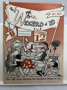 The Wizard of Id Number 12 by Parker & Hart (Paperback 1977)