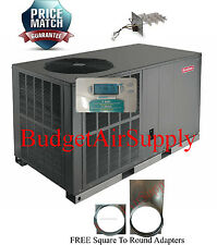 "5 Ton 14 seer Goodman HEAT PUMP""All in One""Package Unit GPH1460H4+Sq2Rd+Tstat+Ht"