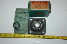 "Vintage NOS FAFNIR Flange Block Bearing - RCJ 1"""