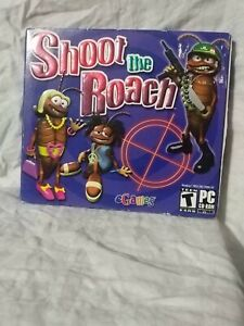 Shoot the Roach-PC CD ROM-eGames-Rated T-new, sealed