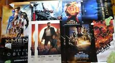 Imax Poster Lot of 12 - Marvel Black Panther Logan X-men Mad Max Dr Strange