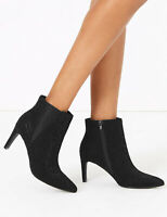 NEW M&S COLLECTION  Stiletto Heel Chelsea Ankle Boots, SIZE 5