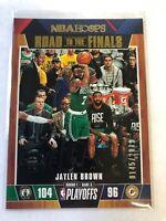 2019-20 NBA Hoops Road to the Finals Jaylen Brown Basketball card #20 /2019