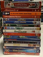 17 DVD HOLIDAY CHRISTMAS HALLOWEEN MOVIES LOT HOME ALONE DISNEY PEANUTS SANTA +