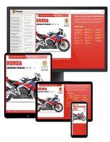 Honda CBR1000RR Fireblade (2008-2013) Haynes Online Manual