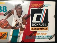 2019-20 Panini Donruss Basketball Blaster Box (Zion RC) SEALED 1 Autograph/box