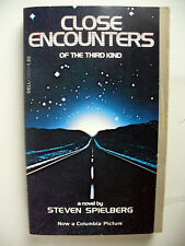 Close Encounters Of The Third Kind 1977 Paperback Steven Spielberg 1St Dell