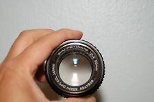 PENTAX SMC PENTAX-M 50mm F1.4 K Mount Lens