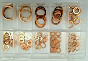 ASSORTED BOX IMPERIAL COPPER SEALING WASHERS