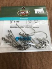 Umpqua Tiemco Fly Fishing Hooks Model Saltwater TMC 811S Size 3/0 Quantity 25