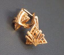 14 K Rose Gold 583 Earrings