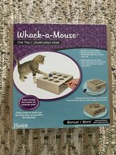 New listing Whack A Mouse Cat Toy By Hugs Pet Products New Wand Included