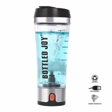 Protein Shaker Bottle Blender Usb Rechargeable Mixer Portable Sports Electric