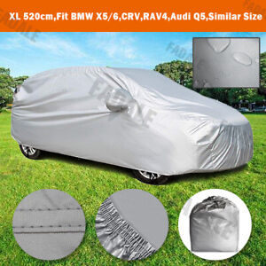 Large Waterproof Car Cover Universal SUV Crossover Off Road Storage BCSUV
