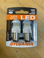 Sylvania ZEVO LED Bulbs 1157 LED.BP2 Bright White 6000K LED Also Fits 2357 2057