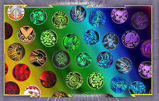Lot de 8 Jetons Pokemon
