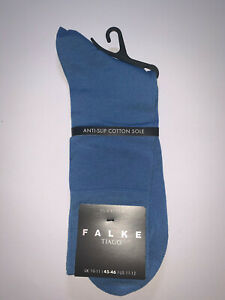 Falke Tiago Fil D'ecosse Light Blue Socks Size 10-11