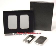 10 AIR-TITE Direct Fit Capsule Holder 5 Storage Gift Box 1oz Silver BAR Display