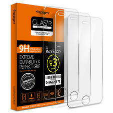 Spigen® Apple iPhone SE / 5 / 5S [Glas.tR SLIM] Shockproof Screen Protector 3PK