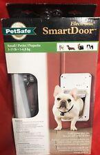 (NEW, BOX NOT PERFECT) PetSafe (SMALL) SmartDoor Electronic Dog Door PPA11-10711