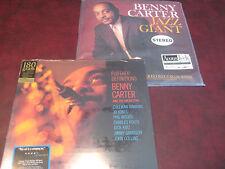 BENNY CARTER JAZZ GIANT AUDIOPHILE LIMITED 45 RPM 2 LP SET NUMBERED + 180G BONUS