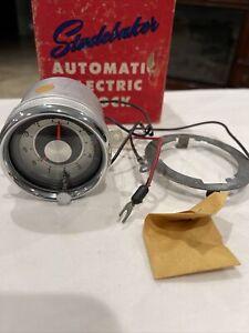 VINTAGE NEW OEM 1959 STUDEBAKER AUTOMATIC ELECTRIC CLOCK #AC-3080