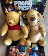 NWT Winnie The Pooh & Tigger Plush Christopher Robin Movie Disneyland SOLD OUT