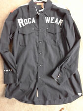 ROCAWEAR ROCA WEAR QUALITY MADE MEN'S SHIRT SIZE XL  TRENDY! GREAT FOR CONCERTS!